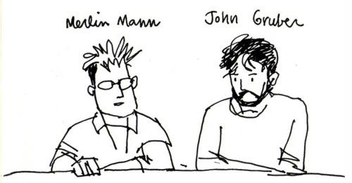 Merlin Mann & John Gruber on Blogging atSXSW